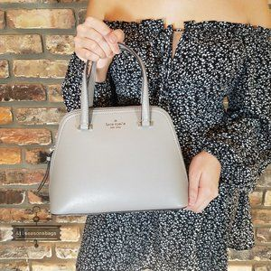 Kate Spade Small dome satchel Patterson drive Gray
